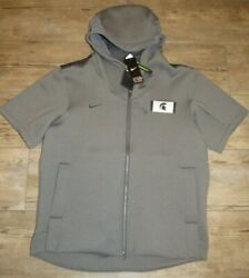 Nike Michigan State Spartans On-field College Showout Jacket Size Men's Medium