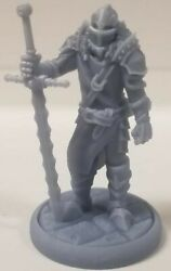 Human Knight With Long Swordandnbsp25mm Miniature Dungeons And Dragons Pathfinder