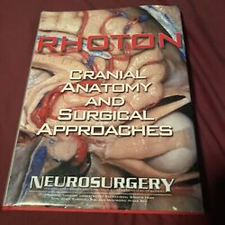 Rhotonand039s Cranial Anatomy And Surgical Approaches