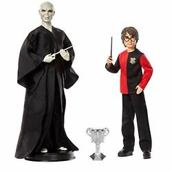 Mattel Harry Potter And Lord Voldemort Dolls Pack Wizarding World Goblet Of Fire