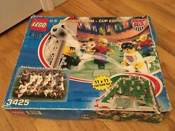 2002 Lego 3425 Us National Team Cup Edition - Incomplete Set - Replacement Parts