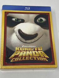 Kung Fu Panda 1 And 2 Movie Collection + Secrets Of The Masters New Sealed 2 Sisx