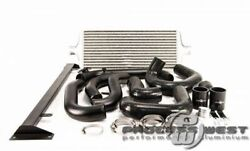 Process West Front Mount Intercooler Kit For 08-14 Grb Wrx-silver