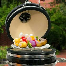 Vision Icon 1 Burner Electric Charcoal Kamado Grill Portable Heat Thermometer