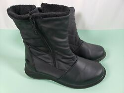 Totes Boots All Weather Faux Fur Lined Boots Size 6M Winter $29.99