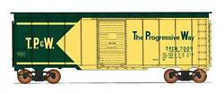 Intermountain Ho-scale 40ft Aar 40ft Box Car - Toledo Peoria And Western/tpandw