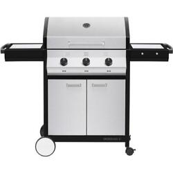 Cadac Meridian Propane Gas Bbq Grill 3 Burner Cart Side Tables Stainless Steel