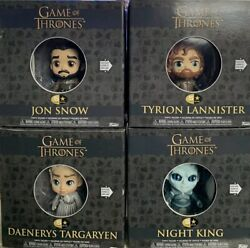2019 New Funko Game Of Thrones Set Of 4 Action Figures 5 Star