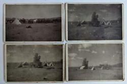 Lot Of 4, 1897 Two Bar Roundup Swan Land And Cattle Co Chugwater Wy Ranch Views