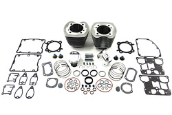 95 Big Bore Twin Cam Cylinder And Piston Kit For Harley Softail Dyna Touring Bag