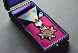WW2 Former Japanese Army Military Police Medal Antique Item Showa Period O0193