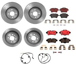 Brembo Front And Rear Brake Kit Drilled Rotors Ceramic Pads For Mini R55 R56 R57