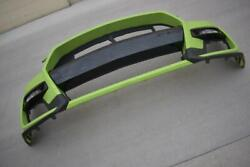 Oem 2019-2021 Ford Mustang Shelby Gt500 Front Bumper Cover Fascia Grabber Lime