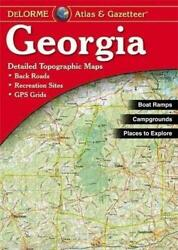 Delorme Georgia Ga Atlas And Gazetteer Map Newest Edition Topographic / Road Maps