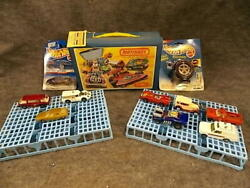 Matchbox Collectors Case Hot Wheels Keychain Tail Dragger And 8 Vintage Cars