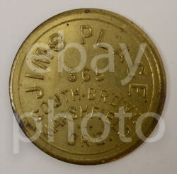 Jims Place Marshfield Coos Bay Oregon Or 25 Cent 26mm State Us Trade Token 23