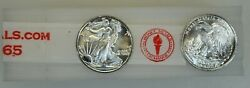 25 1/10 Ounce .999 Pure Silver Bu Fractional Rounds ☆ Walking Liberty Type