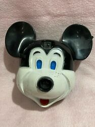 Vintage Disney Mickey Mouse Head Camera Mick A Matic Flash Cube Style
