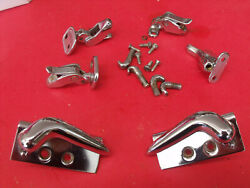 55 Ford Thunderbird T-bird Hard Top Latches And Hold Down Hardware Parts Oem