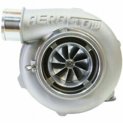 Aeroflow Boosted 5855 .83 Turbo 400-750hp Natural Cast Reverse/v-band In/out