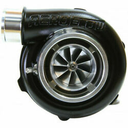 Aeroflow Boosted 5855 .83 Turbo 400-750hp Black Reverse/v-band In/out