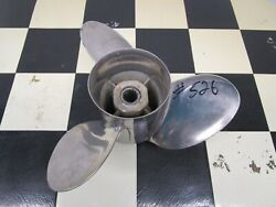 48-11074a40 Quicksilver Propeller 23 Pitch Right Hand Used Sold As Is