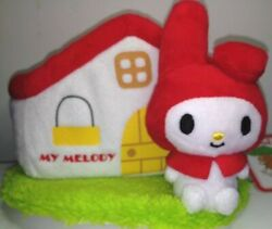 New Sanrio Original My Melody Red Hood Collection Desk Top Accessory Holder Box