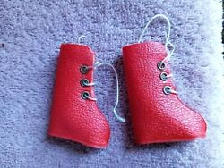 Vtg Ideal Tammy Doll Snow Bunny 9211-4 Red Ski Boots Euc Japan Stickers Laces