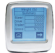 202-ddg-02 Right Weigh E-z Weigh Interior In-dash Digital Load Scale Dual Input