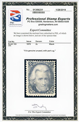 Us Scott 103 Mint Og With Pse Cert - Clean And Sound - Very Rare Stamp