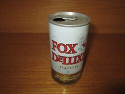 Vintage Fox Deluxe Beer Can Condition Issues