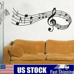 Music Notes Band Room Home Removable Wall Stickers Vinyl Wall DIY US