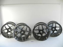 Front Rear Passenger And Driver Side Wheel Rim Set Bc Forged 19 Inch Oem 30 A