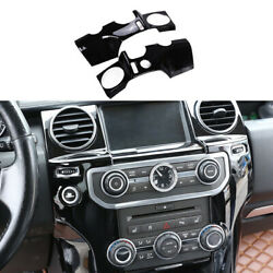 Central Console Air Outlet Vent Trim For Land Rover Discovery 4 2010-2016 Black
