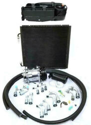 Gearhead Mini Ac Heat Defrost Air Conditioning Kit + Fittings Hoses Compressor