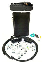 Gearhead Super Air Conditioning Ac Heat Defrost Kit W/ Fittings Hoses Compressor