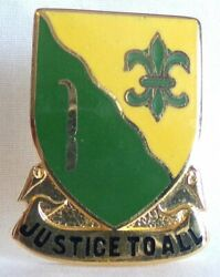 Us Army 310th Military Police M.p. Battalion Dui Di Crest Pin