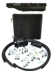 Gearhead Slimline A/c Heat Defrost Air Conditioning Ac Kit Black Louver Fittings