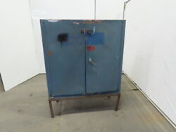 Eagle Cra-32 Acid Storage Cabinet Manual-latching Door 30 Gallon W/stand