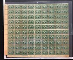 Usa 328 Mint Fine - Very Fine Never Hinged Sheet Of 90 With Plates