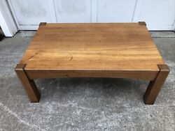 Early Gurstav Stickley Mission Oak Arts And Crafts Coffee Table Library Table