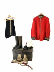 British Victorian Welsh Lord Lieutenant Officers Uniform Named Grouping
