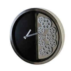 Modern Casablanca Wall Clock With Mobile Gears