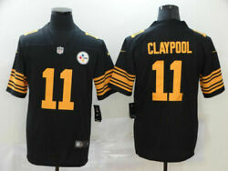 New Claypool Chase 11 Pittsburgh Steelers Men's Black Jersey 2021