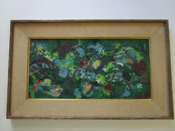 Morgan Russell Masterful Abstract Expressionism Painting Modernism Colorful 1950
