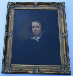 Old Master Portrait 18th To 19th Century Museum Quality Antique Large American