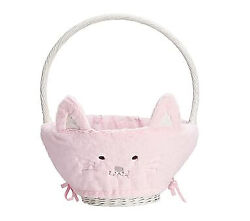 Pottery Barn Kids Kitty Easter Basket Liner-large Or Small