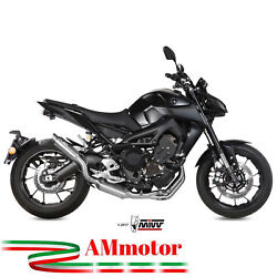 Full Exhaust System Yamaha Mt-09 2019 2020 Mivv Gp M2 Stainless Steel Motorcycle