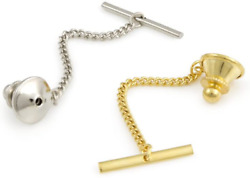 Tie Tack Clutch With Chain Assortment Tie Tack Back With Chain And Bar
