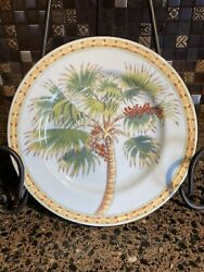 Trade Winds By Siddhia Palmetto Palm Wall Plate Andrea By Sadek 9quot;